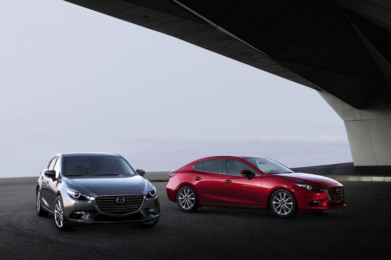 如同Mazda 3這樣的國產價進口車,壓根如入無人之境...