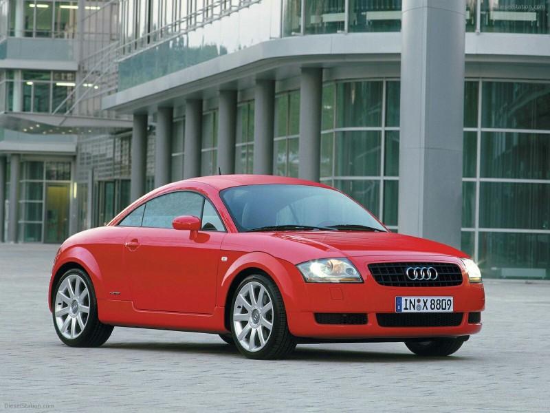 初代Audi TT看似笨拙,但設計風格最有獨特性