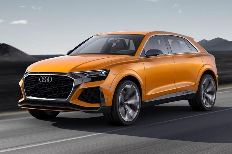 2019的Audi Q4會是什麼樣子?從RS Q8的預想圖或許能看出些端倪