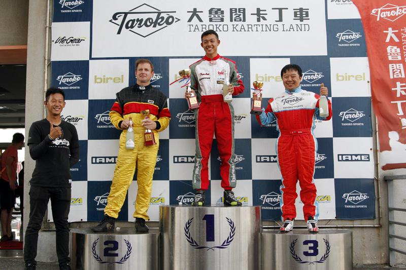 本站Yamaha SL前三名分別是冠軍蕭奕丞、亞軍Steve John Fish、季軍黃建誠。