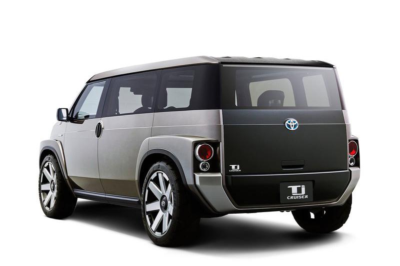 其實屬於小型車的TJ Cruiser Concept,其工具箱般的外型不只夠潮夠炫,同時也確保車內空間最大化。
