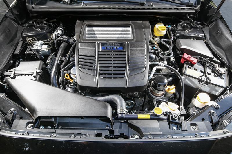 搭載1.6升水平對臥渦輪增壓汽油引擎,具備170ps/25.5kgm輸出表現。