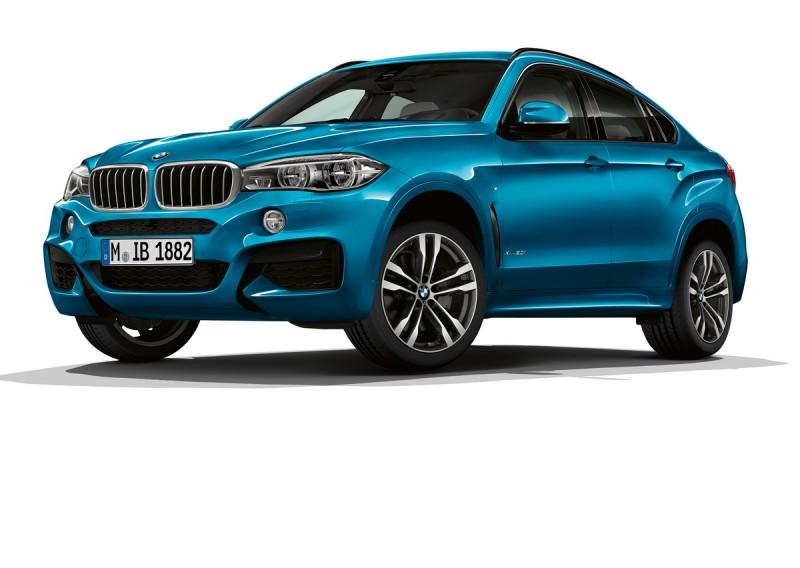 BMWX6 M Sport Edition的長灘藍金屬車漆在陽光下肯定非常耀眼
