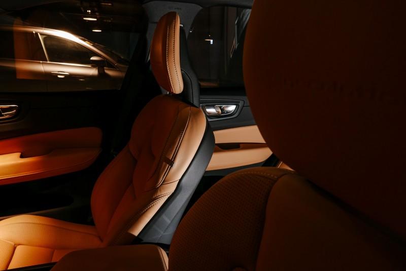 薄型化頭枕也是Volvo車系一大特色