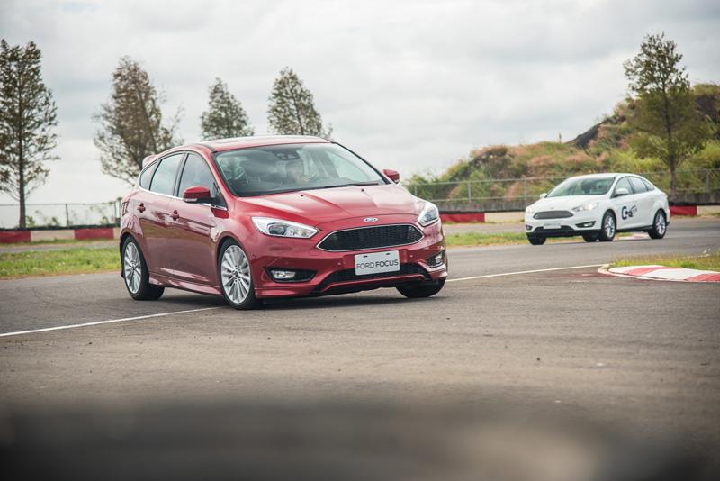 新改款Focus在操控樂趣上更加精進,在窄小的麗寶卡丁賽車場中感受相當明顯。