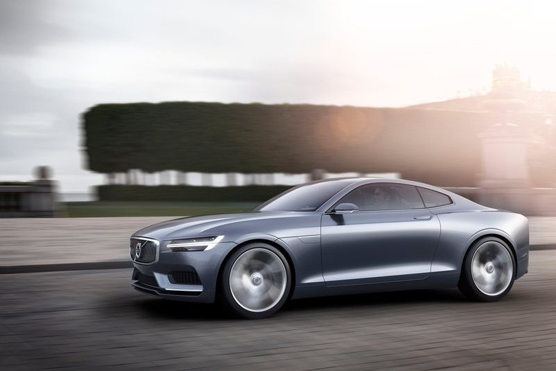 2013年發表的Volvo Coupe Concept,至今看起來依舊帥到掉渣,所幸如今Polestar 1承襲其志。