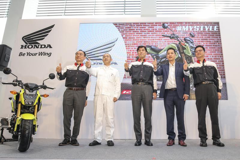 Honda Taiwan正式在台發表首款白牌檔車MSX125 ABS。