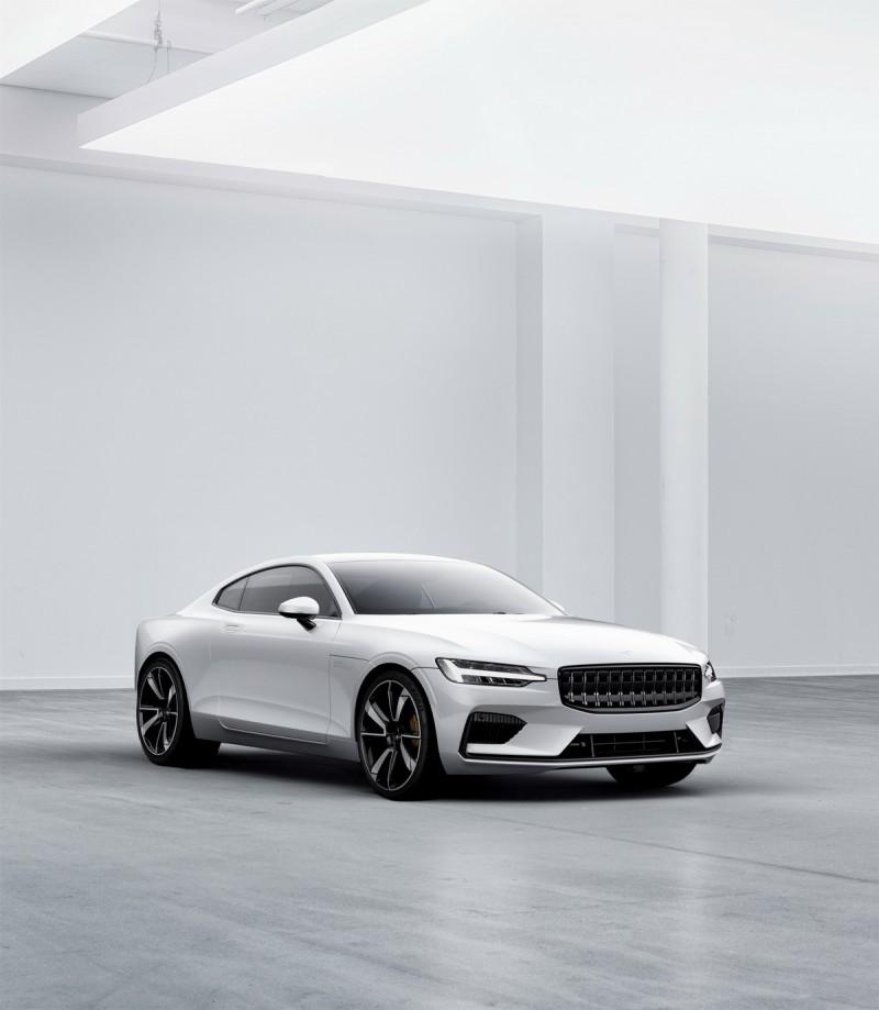 造型與Volvo車款非常相似,但廠徽位於引擎蓋上的Polestar 1可視為Volvo的性能車之一