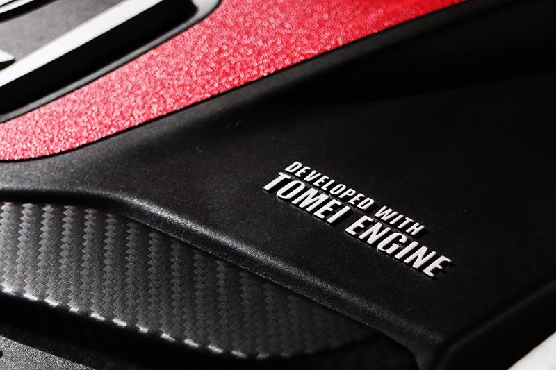 來自改裝名廠「東名引擎」所調校的動力系統,實際表現值得期待。