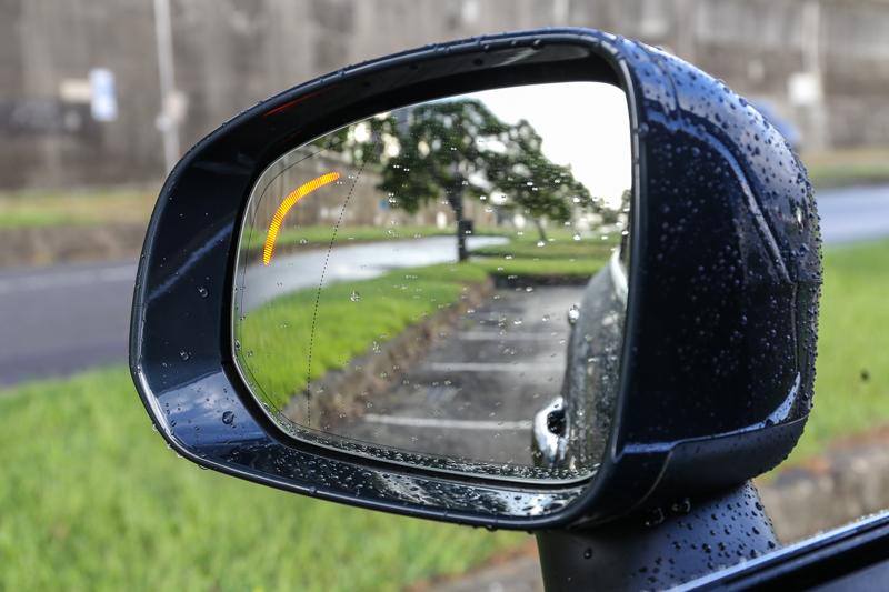 含轉向輔助的BLIS駕駛視覺盲點訓系統等更先進的主動安全配備也全數列為標準配備。