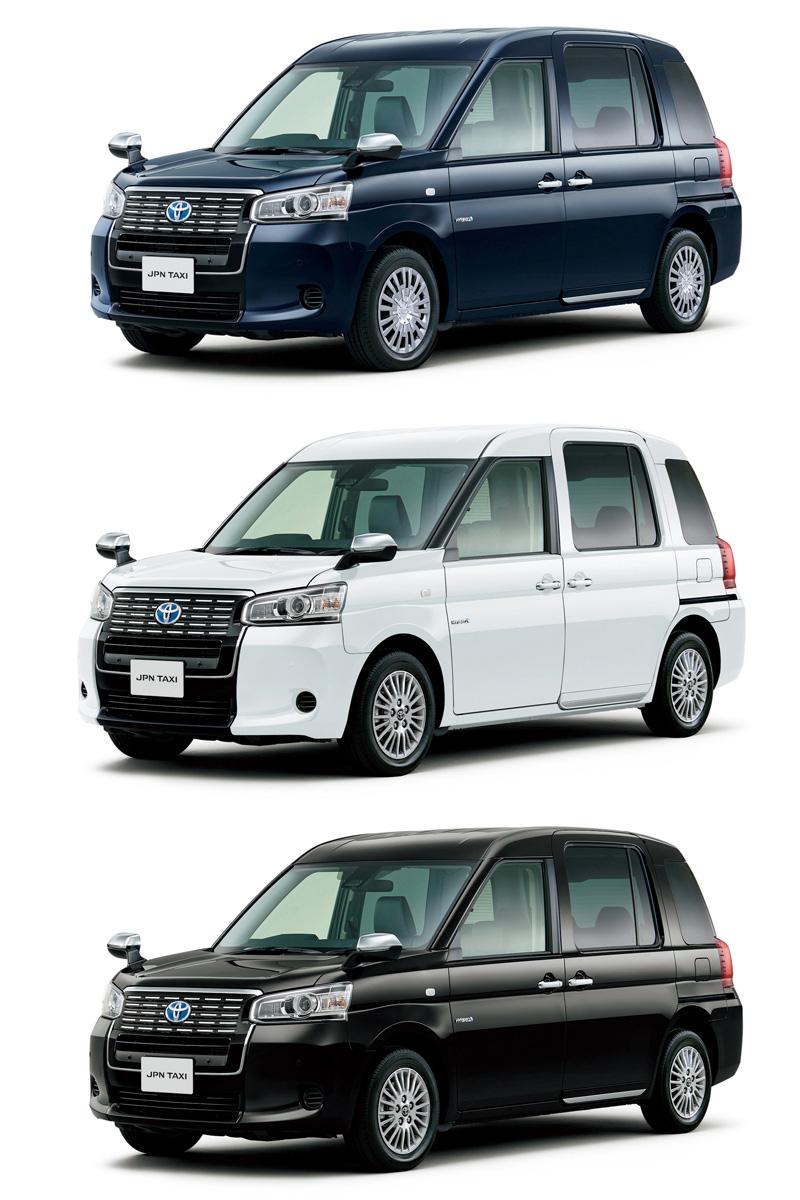 車身烤漆有代表日本傳統的鯉魚藍、黑、白三種顏色可供選擇。