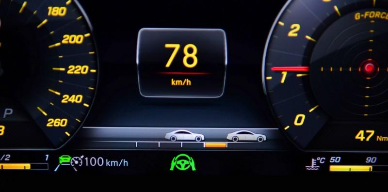 主動巡航的車距監控功能也能做距離長短之調整
