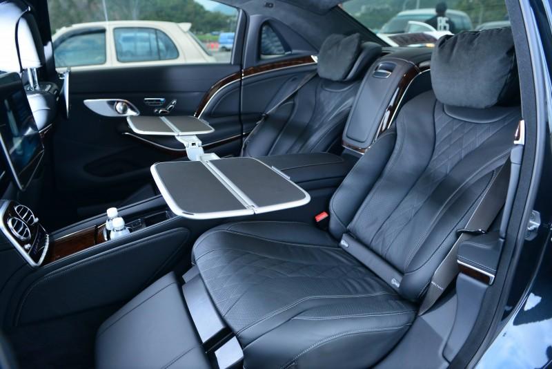 頂級的Mercedes-Maybach後座配置宛如飛機頭等艙