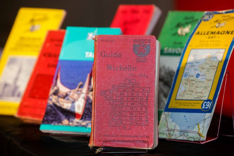 米其林指南發行超過一世紀,總發行量超過150萬本,是全球發行歷史最久的觀光旅遊與美食餐飲評鑑指南(照片提供:台灣米其林)