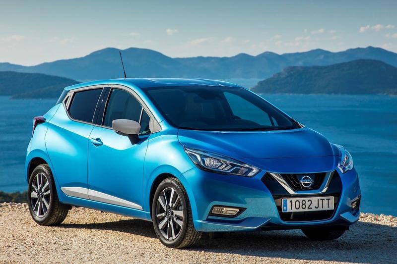 這是下一世代的Nissan March,如果Mitsubishi小車計畫成真,應該就會用上此一平台。