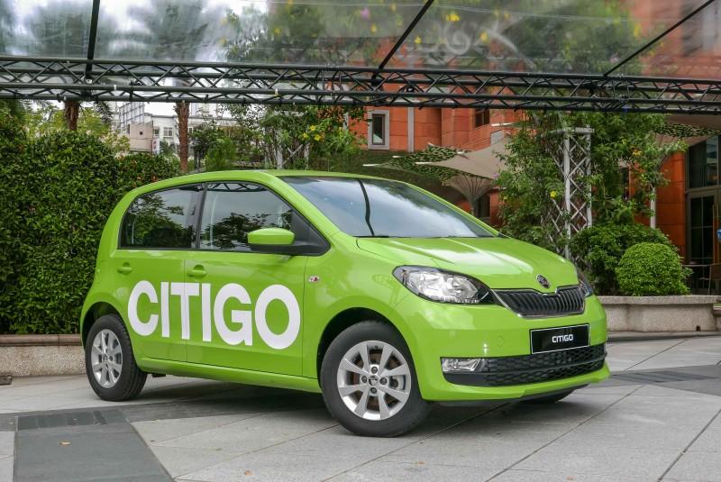 全新Citigo以俐落流暢的外觀造型改款,擁有多款鮮豔大膽的車色選擇,小車車色這樣就對了