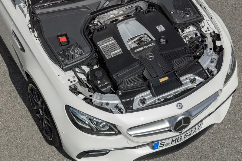 Mercedes-AMG E 63 S 4MATIC Estate的4.0升雙渦輪增壓動力可釋放612hp與86.7kg-m最大輸出。