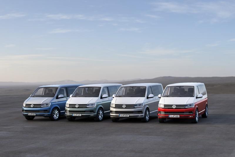 福斯商旅Multivan為滿足不同消費市場需求,提供台灣市場四種不同規格。