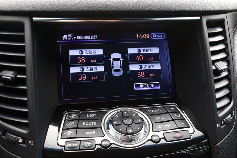 具備胎壓顯示功能的車款是較好的選擇。