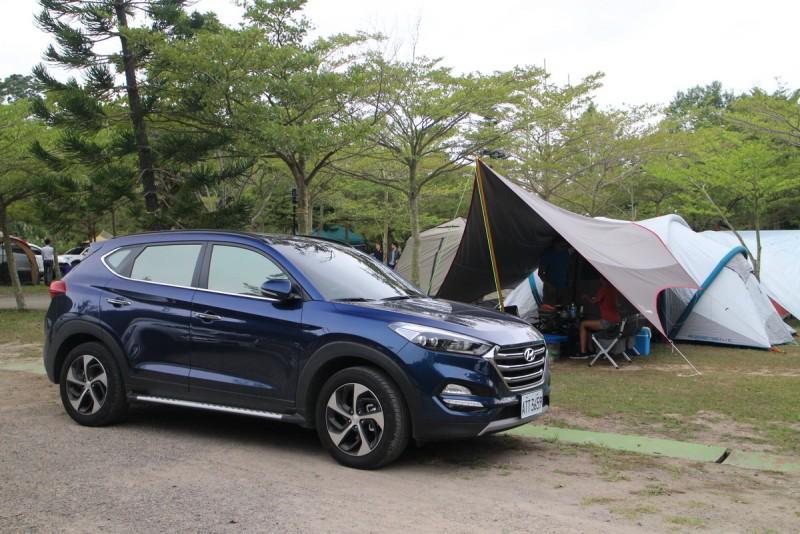 從營地建設就能看出Hyundai車友的露營熱忱以及專業程度