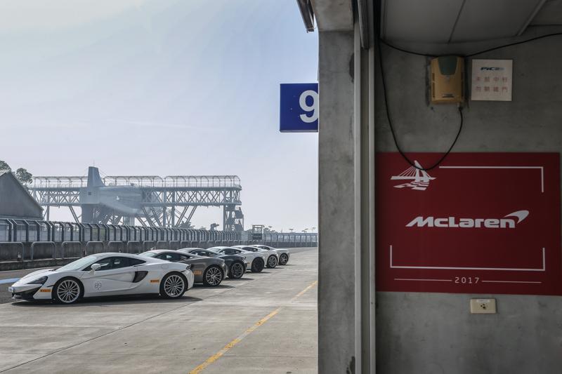 McLaren高標準表現,可說是近年來於大鵬灣賽道駕馭體驗中最值得回味的一次。