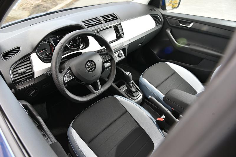 座艙中的陳設用比較多不同顏色與材質來製造出較活潑的氣息。