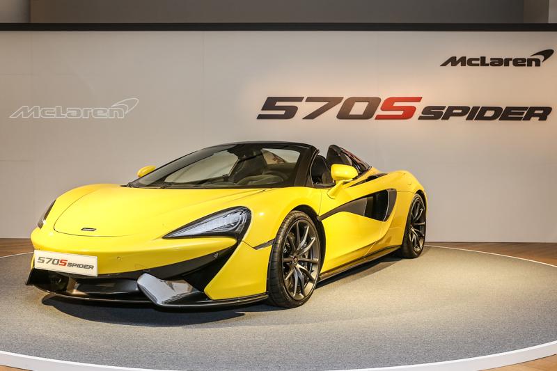 繼540C、570GT與570S之後,永三汽車再度為McLaren旗下的Sports Series家族帶來全新成員570S Spider。