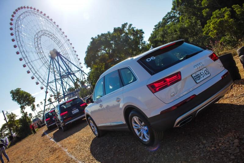 台灣奧迪於台中的麗寶國際賽車場正式啟用Audi駕馭體驗中心以及off-road越野場地,越野場地的各大關卡包括高低段差、碎石路、上下坡、側坡及繞錐體驗等標準越野路段皆由Audi德國原廠提供原汁原味的越野數據及設計所打造