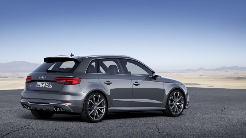 台灣奧迪正式宣布全新Audi S3 Sedan四門跑房車│S3 Sportback運動掀背跑旅在台上市,這部具備強勁動能表現和時尚運動美感的S Model車系旗下之最新力作,屆時誠摯敬邀您即刻親臨全台Audi展示中心,親身體驗這款最具時尚風格與動感氣息的四環品牌新生力軍!