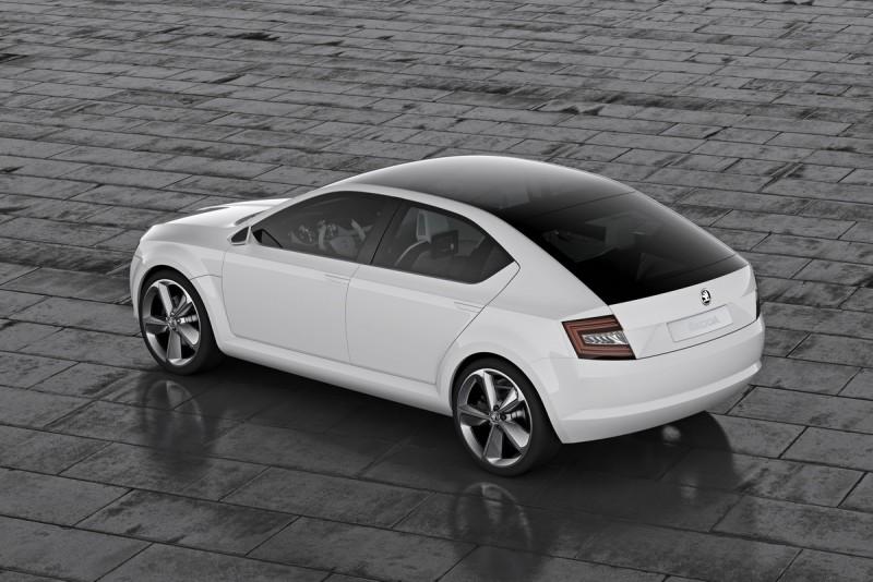 2011年日內瓦車展上的VisionD概念車可視為Rapid Spaceback雛形