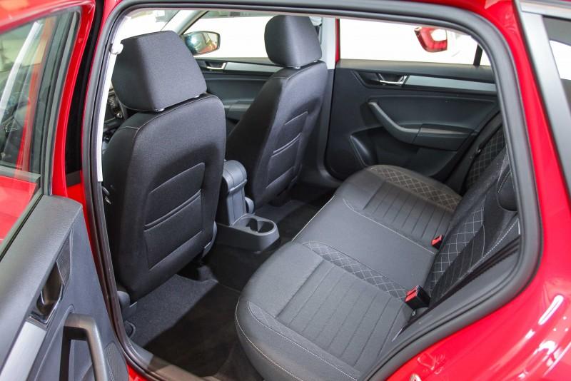 改款後Rapid Spaceback空間不變,但門板與座椅質感卻大幅進步