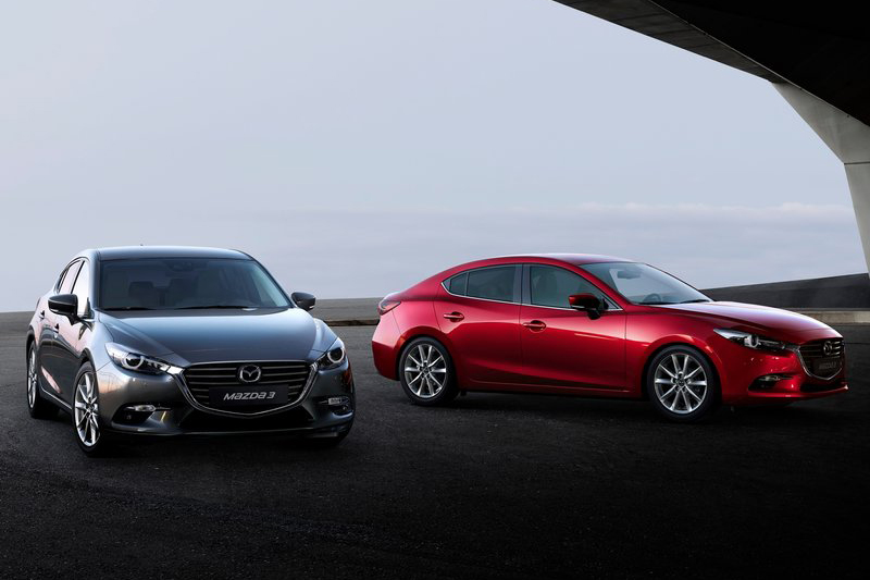 如同Mazda 3這些房車/掀背車兼售的車款,目前掀背車比例總是高出不少。