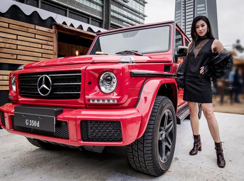 G 350d designo manufaktur Edition特仕版驚喜現身。