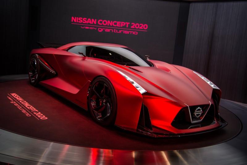 2020 Vision Gran Turismo概念超跑也曾於2015東京車展亮相。