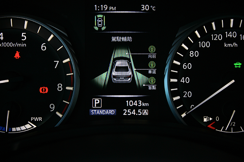 Q50S Hybrid的主動安全配備堪稱應有盡有,幾乎已達半自動駕駛等級。