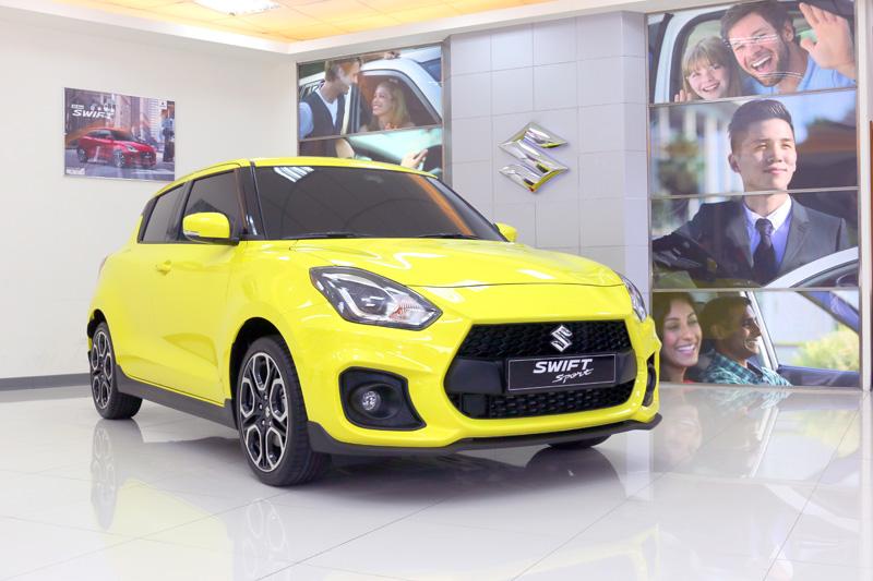 許多性能迷注目的Swift Sport將是Suzuki在本屆台北車展中的主秀車款。