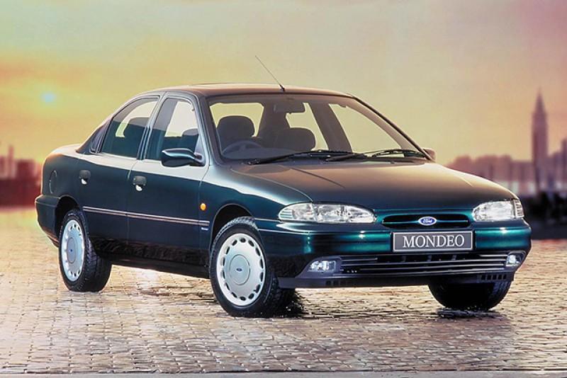 當年的Mondeo主打全球科技菁華於一車