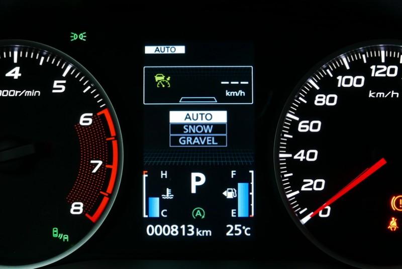 S-AWC模式具備Auto、Snow、Gravel三種模式可選