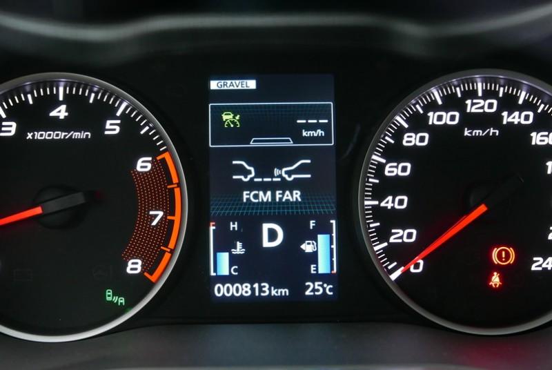 FCM主動煞車輔助還可自行設定自動煞停的感測距離長度