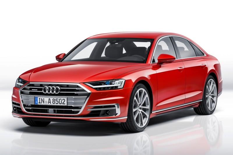 Audi在2018年主打車款為全新世代科技旗艦A8