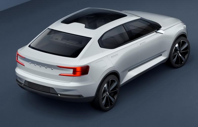 圖為Volvo 40.2概念車