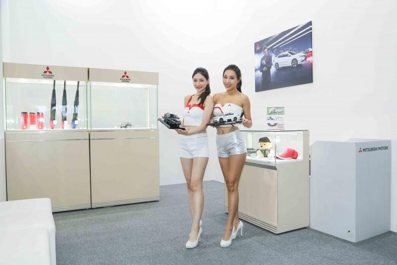 MITSUBISHI首次展售品牌精品 GRAND LANCER合金車深受消費者喜愛