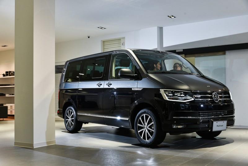 深獲層峰菁英人士鍾情的Multivan車系,在本次車展中迎來2018年式小改款車型。
