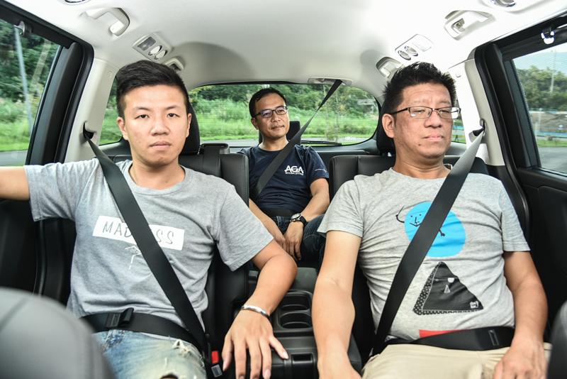 車內的空間表現、底盤調校所反映的乘坐舒適度差異等,也是此次審視的重點項目。