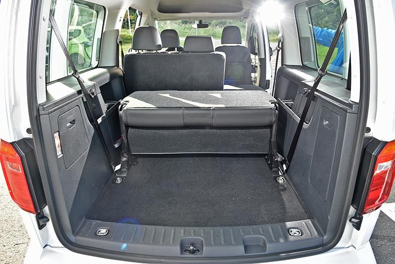 商旅車的格局,讓Caddy Maxi成為四車之中表現最多元也最多用途的車款。