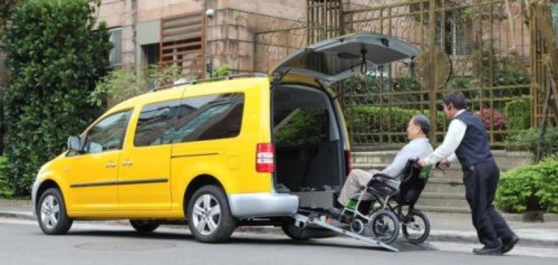許多小黃都以用途更廣的Caddy IPC作為營業車