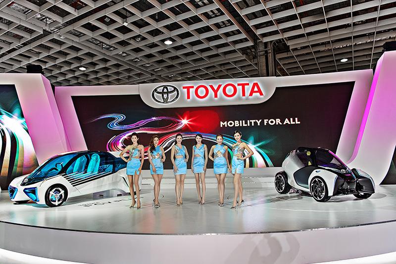 Toyota的國產車在2017年受到嚴重影響,但在進口市場則持續呼風喚雨。