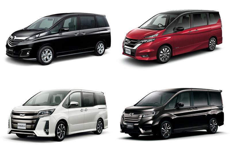 這四款日系車款是較符合條件選擇,但超過180cm的車高,在台灣停車會較不便。