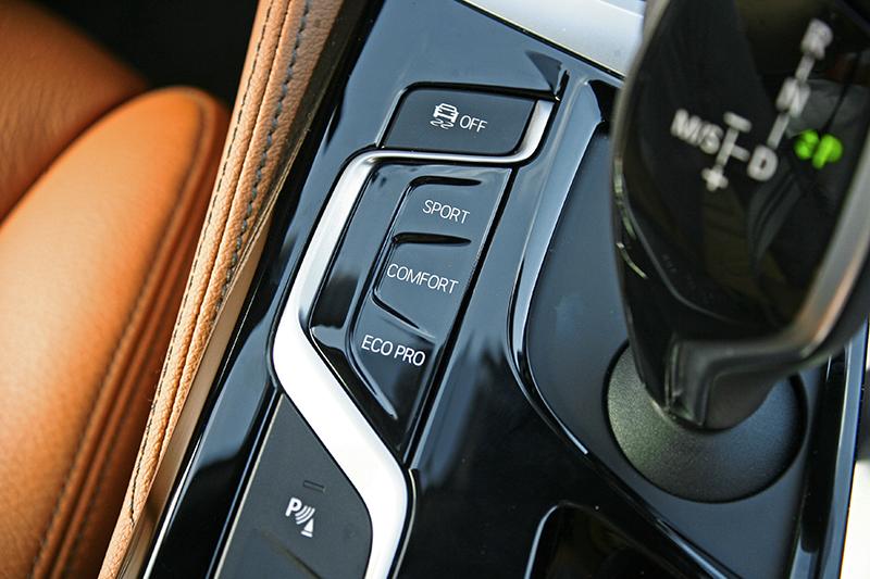 駕駛模式可以展現截然不同的輸出個性。