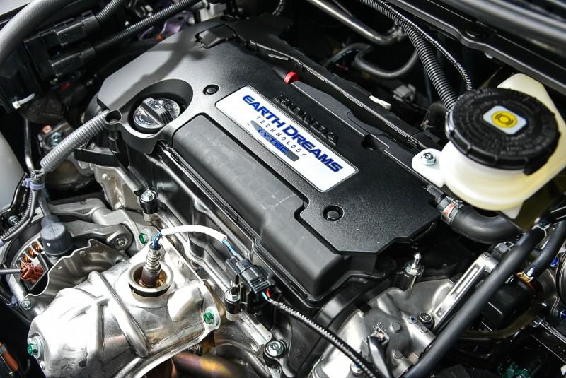 四缸2.4升自然進氣引擎輸出已經足夠Odyssey使用